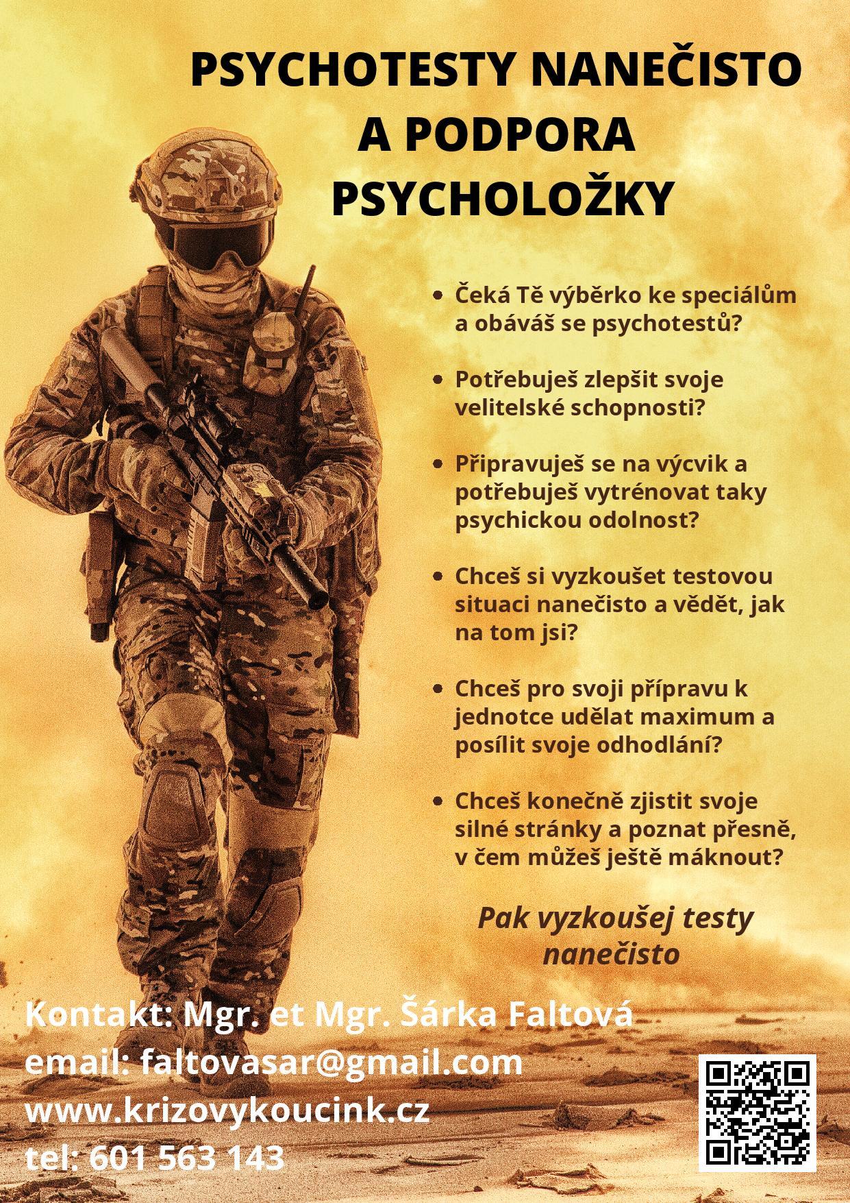 Psychodiagnostika Šárka Faltová